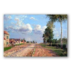 Camino a versalles rocquencourt-Copia obras de arte famosas camille pissarro