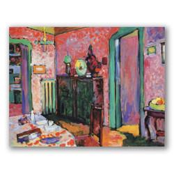 Interior mi comedor-Copia obras arte famosas wassily kandinsky