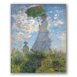 El paseo mujer sombrilla-Copia obras arte claude monet