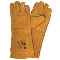 Guante Carnaza Soldador-Elementos de seguridad industrial epp elementos protección personal guantes