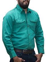 dotaciones empresariales camisa drill verde claro medellin.jpg