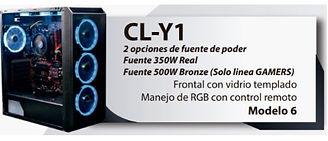CL-Y1 Torres o cajas pc gamer medellin.J
