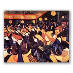 Salón de baile en Arles-Copia obras arte famosas vincent van gogh
