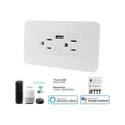 Enchufes o Switch wifi inteligentes teckin casas y oficinas inteligentes domotica medellin