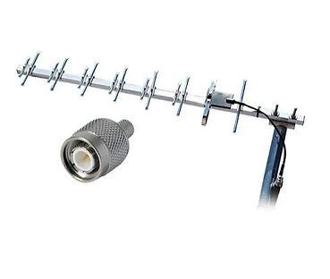 Antena unidireccional para repetidor de
