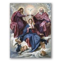 Coronacion de la virgen-Copia obras arte diego velazquez