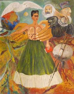El marxismo dará salud a los enfermos-Copia obras arte famosas frida kahlo