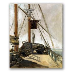 La cubierta del barco-Copia obras de arte famosas edouard manet