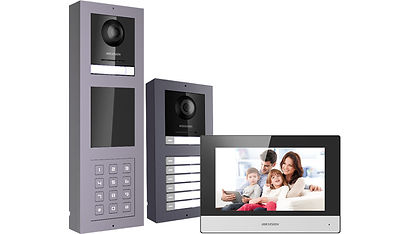 Videoporteros o videocitofonia hikvision