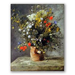 Jarron de flores-Copia de obras de arte famosas pierre auguste renoir