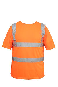 Camiseta manga corta con reflectivo mede