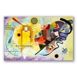 Amarillo rojo azul-Copia obras arte famosas wassily kandinsky