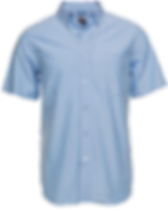 Camisa de botones tela Oxford para hombr