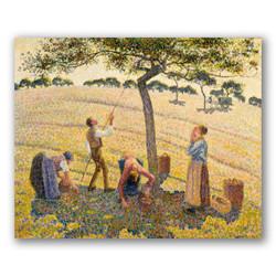 Cosecha de manzanas-Copia obras de arte famosas camille pissarro