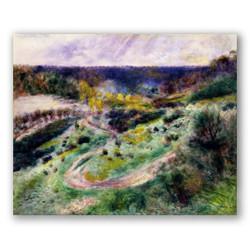 Camino en wargemont-Copia de obras de arte famosas pierre auguste renoir