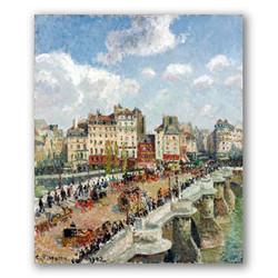 El pont neuf-Copia obras de arte famosas camille pissarro
