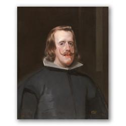 Felipe IV-Copia obras arte diego velazquez