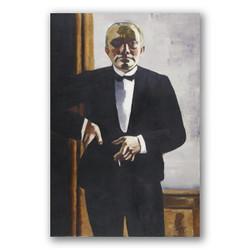 Autorretrato con esmoquin-Copia obras arte max beckmann