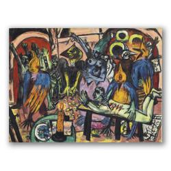 El infierno de los pajaros-Copia obras arte max beckmann