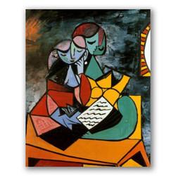 La leccion-Copia obras arte pablo picasso