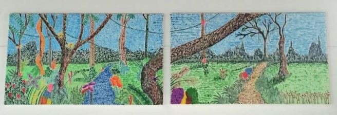 Magia salvaje 1 y 2 juntos - Obras de arte