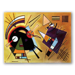 Negro y violeta-Copia obras arte famosas wassily kandinsky