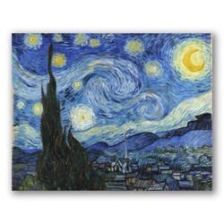 La noche estrellada-Copia obras arte famosas vincent van gogh