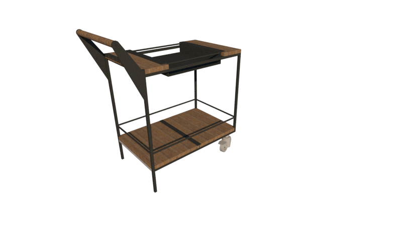 Mobiliario muebles para el hogar,oficina,restaurantes,bares mesas con ruedas para comidas bares tipo