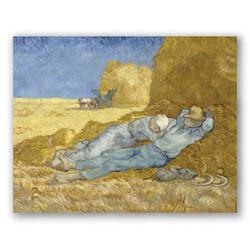 La siesta-Copia obras arte famosas vincent van gogh