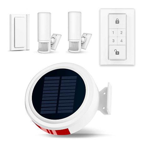Alarma inalambrica solar cntra robo en m