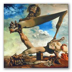 Construccion blanda con judías hervidas-Copia obras arte famosas salvador dali