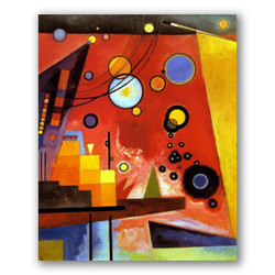 Rojo pesado-Copia obras arte famosas wassily kandinsky