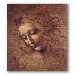 La scapigliata-Copia obras arte leonardo da vinci