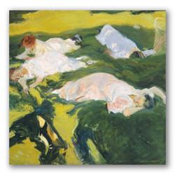 La siesta-Copia obras arte joaquin sorolla y bastida