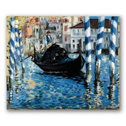 El gran canal venecia-Copia obras de arte famosas edouard manet