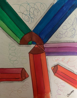 Scribbles - Venta de pinturas de obras de arte