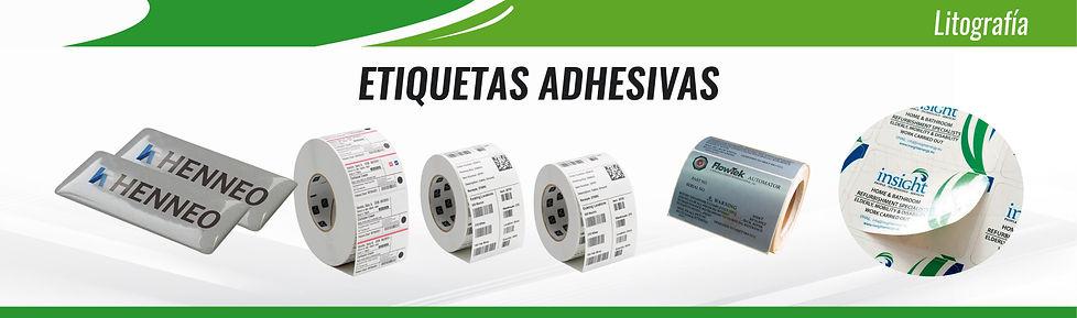 etiquetas adhesivas inventarios, resina
