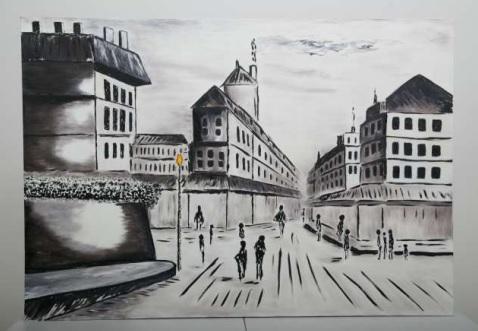 Tarde en París - Obras de arte