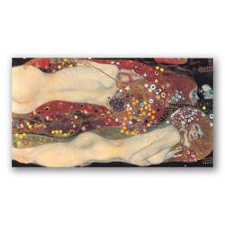Serpientes acuaticas II-Copia obras arte gustav klimt