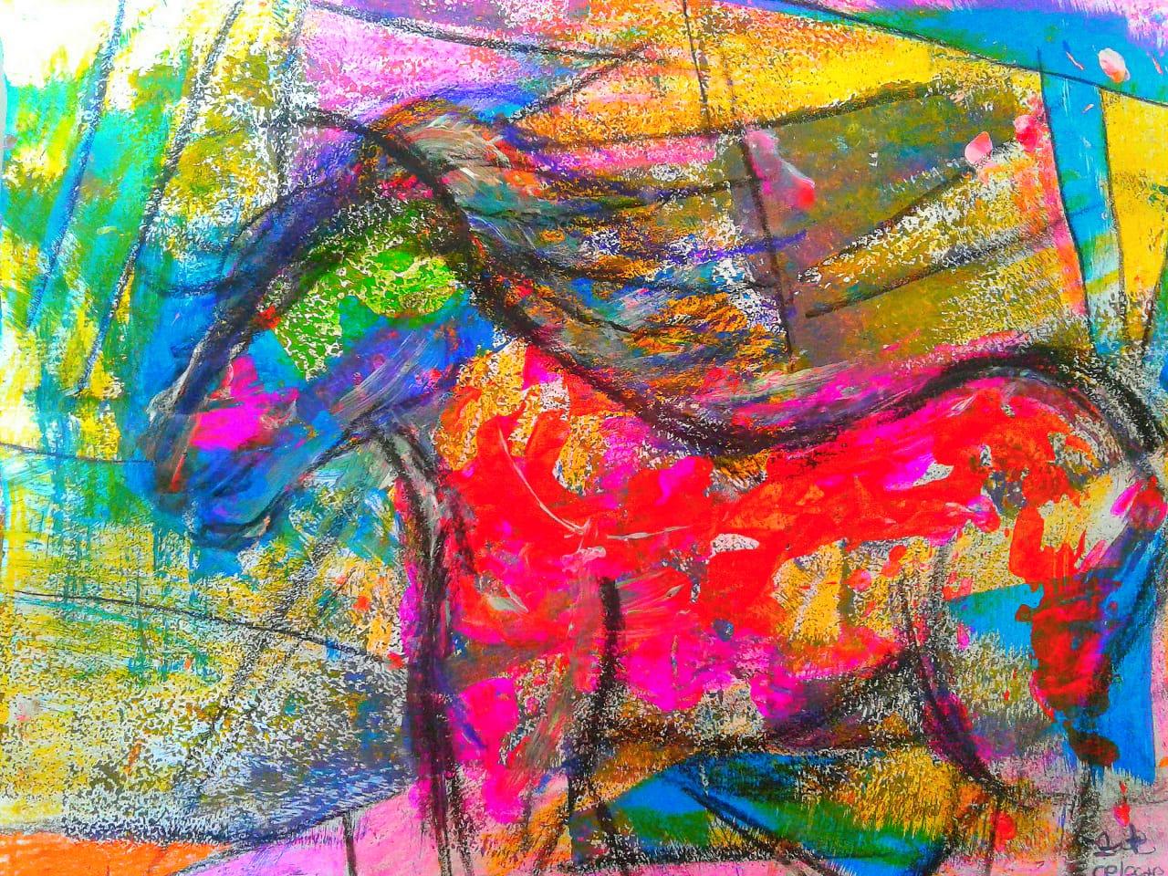 Caballo C - Obras de Arte