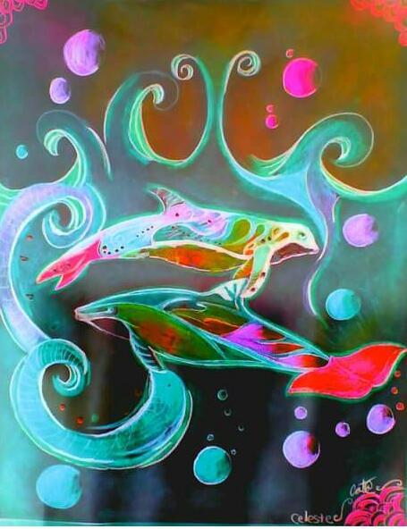 Delfines - Obras de Arte