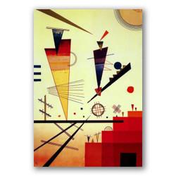 Estructura alegre-Copia obras arte famosas wassily kandinsky