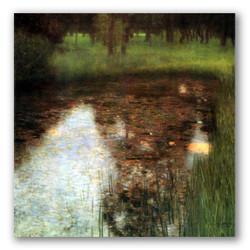 El pantano-Copia obras arte gustav klimt