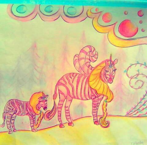 Unicornios - Obras de arte