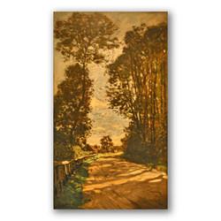 Road to the Saint Simeón Farm-Copia obras arte claude monet