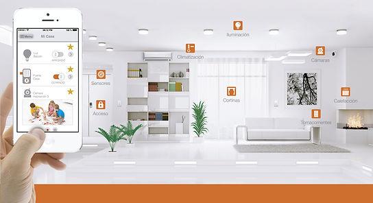 Domotica, automatizacion-de-casas-oficinas-inteligentes