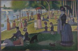 A Sunday on La Grande Jatte-Copia obras arte famosas georges pierre seurat