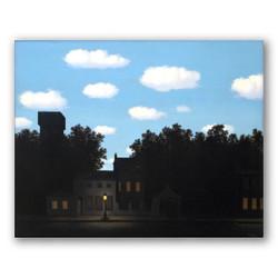 El imperio de las luces II-Copia obras de arte famosas rene magritte