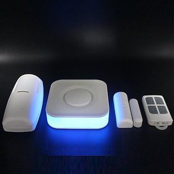 Kit de alarmas contra robo wifi app mede