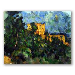 El castillo negro-Copia obras arte paul cezanne